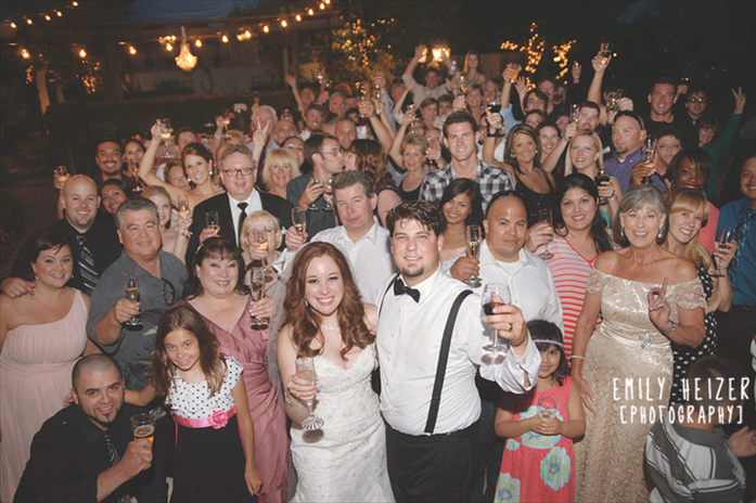 Sacramento Wedding DJ at Stone Ranch.  Photography by Emily Heizer Photography.